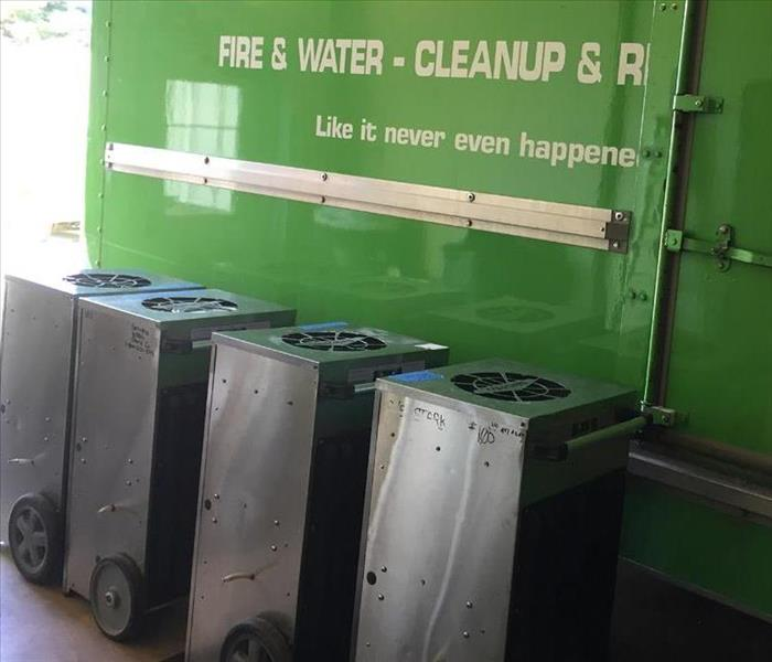 SERVPRO of West Akron Equipment