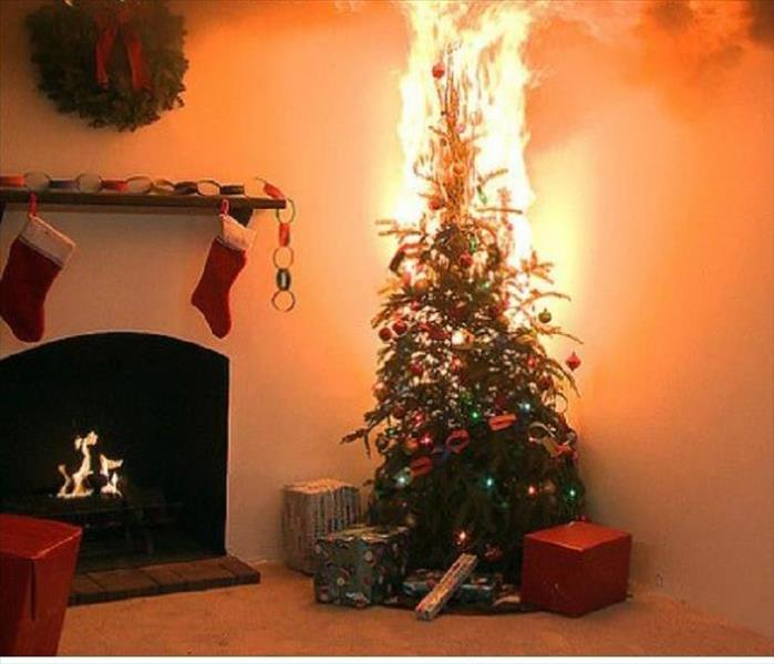 Fire Damage Fire Safety During this Holiday Season