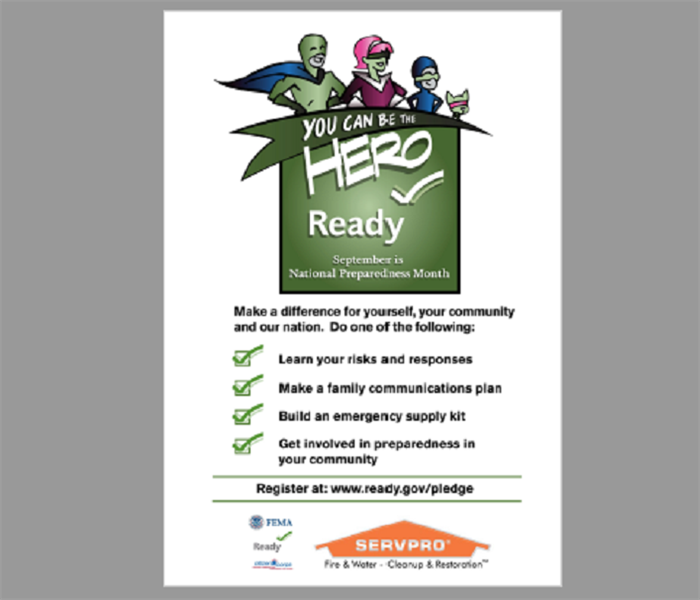 Community September is National Preparedness Month